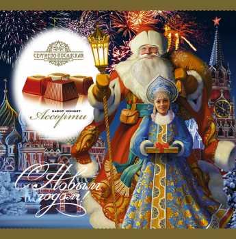 Дед Мороз на Красной площади