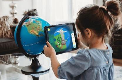 Глобус интерактивный зоогеографический с подсветкой